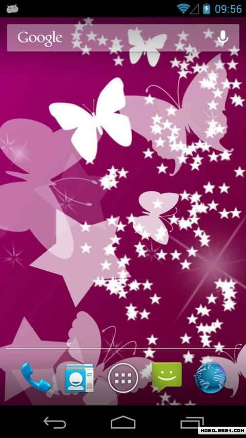 Butterflies Live Wallpaper Android App download   Download the 480x854