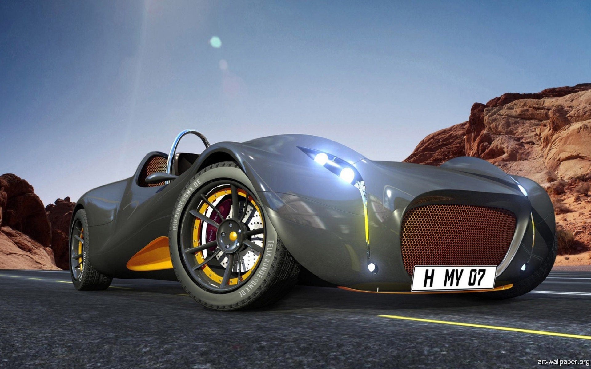 image 3d Sport Car Wallpaper PC Android iPhone and iPad Wallpapers 1920x1200