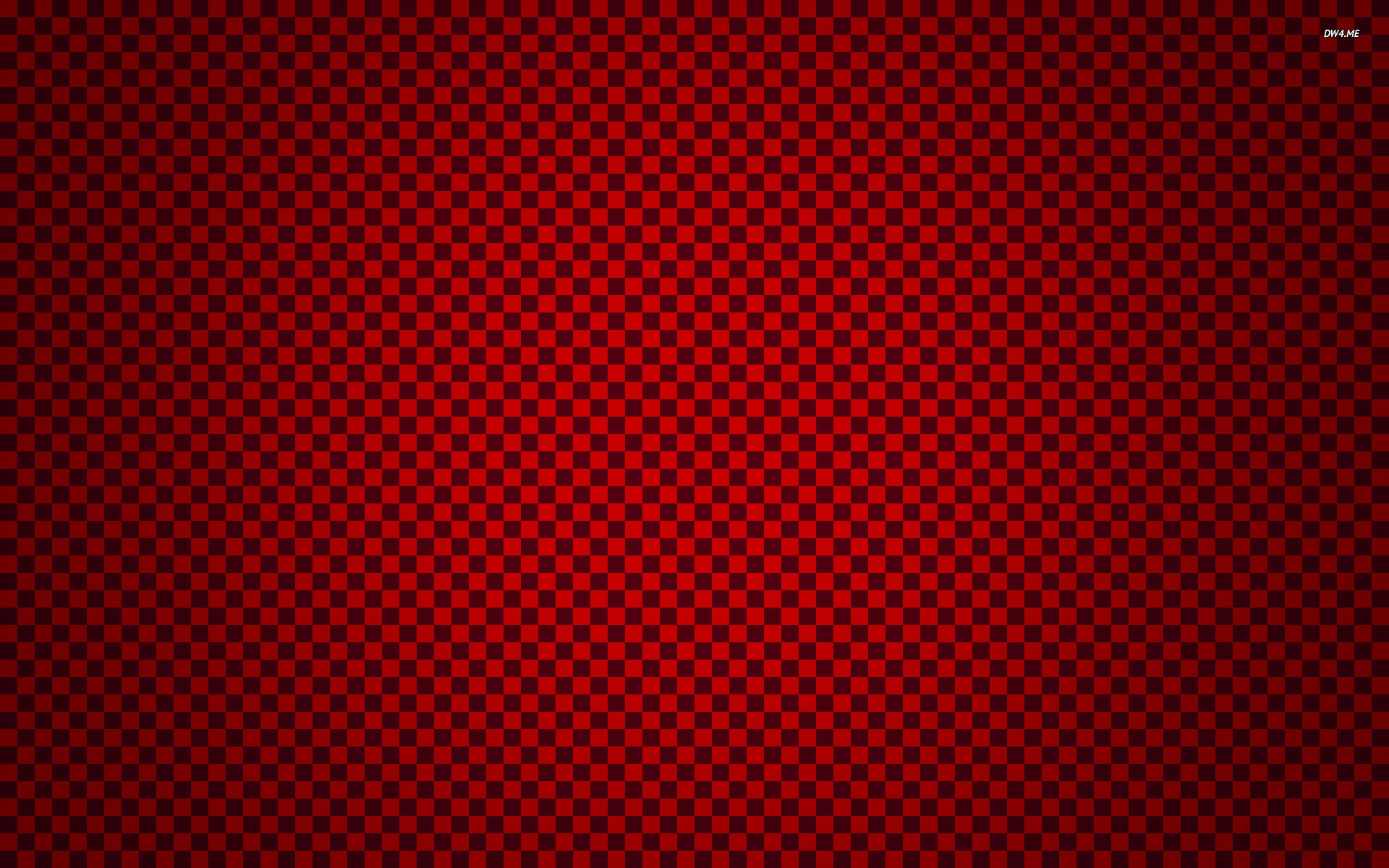 Red checkered pattern wallpaper   Digital Art wallpapers   1283 1920x1200