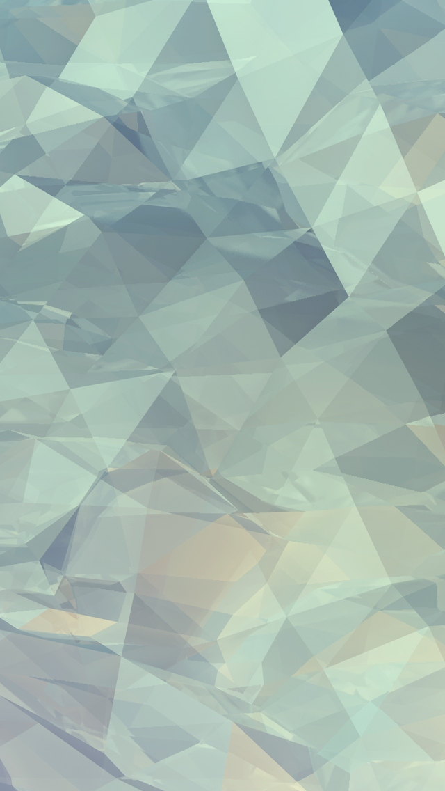 Abstract Crystals Wallpaper   iPhone Wallpapers 640x1136