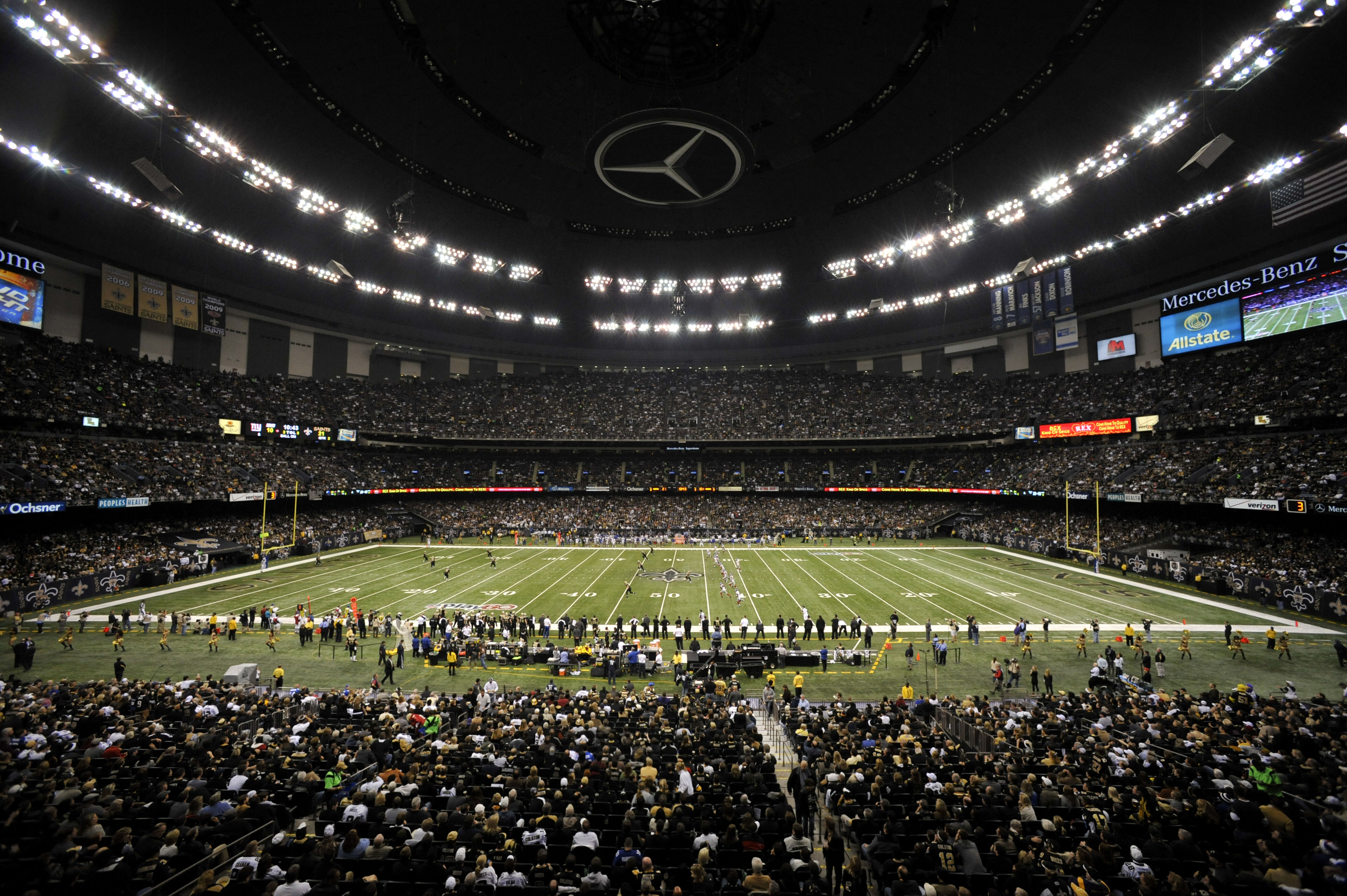 Superdome wallpaper wallpapersafari for Mercedes benz dome new orleans seating chart
