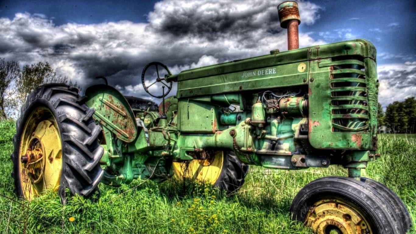 Tractor wallpaper 1366x768 3138 1366x768