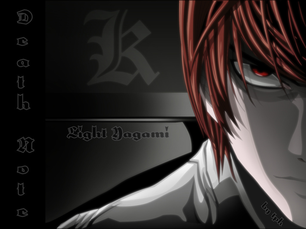 Light Yagami   Light Yagami Wallpaper 10457415 1024x768