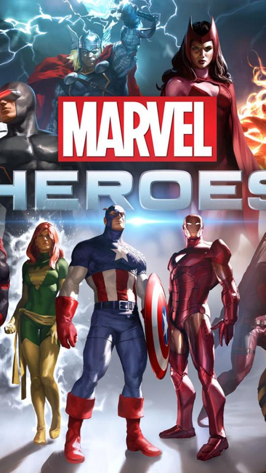 Marvel Heroes Wallpaper   iPhone Wallpapers 540x960