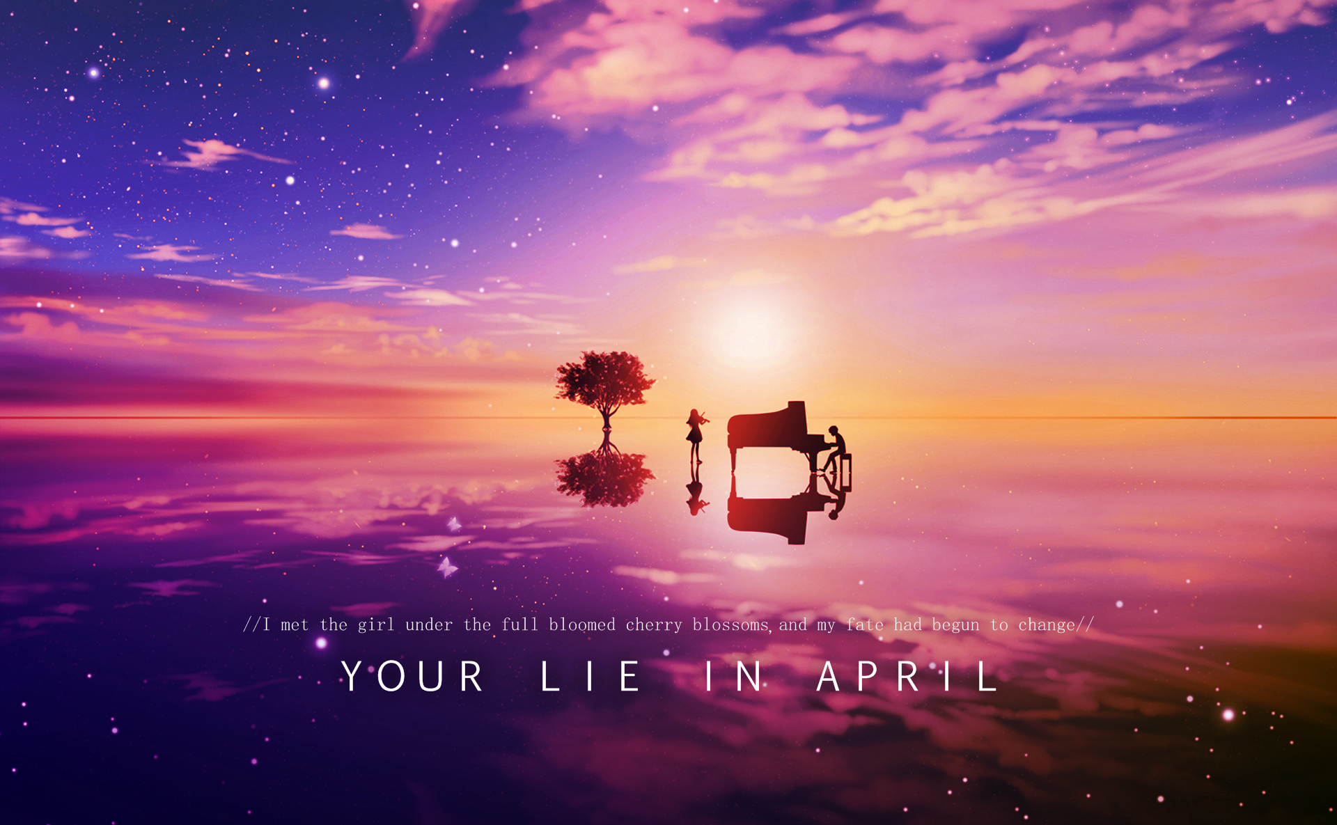 Your Lie in April HD Wallpaper Background Image 1920x1185 ID 1920x1185