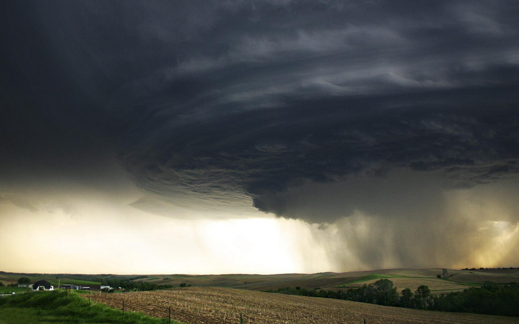 Tornado Storm Wallpaper HD wallpaper background 1680x1050
