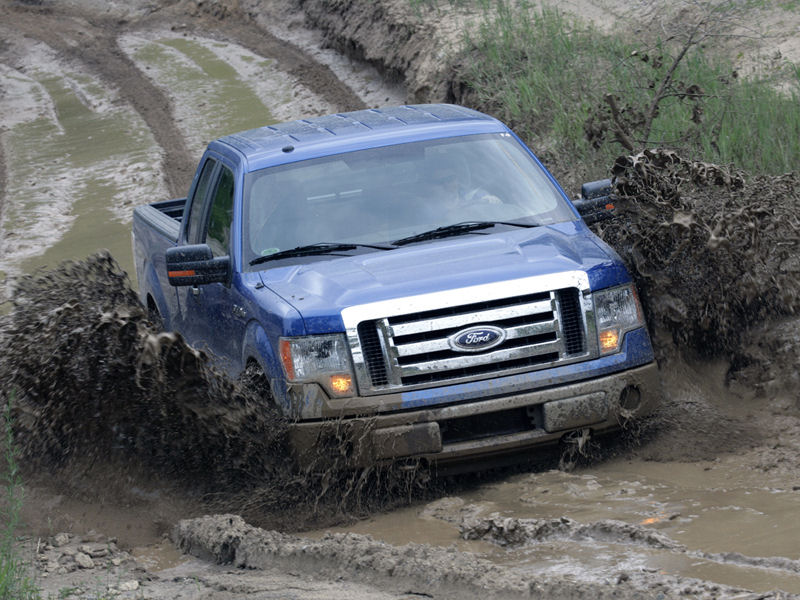 Please right-click on the Ford F150 wallpaper below, and choose