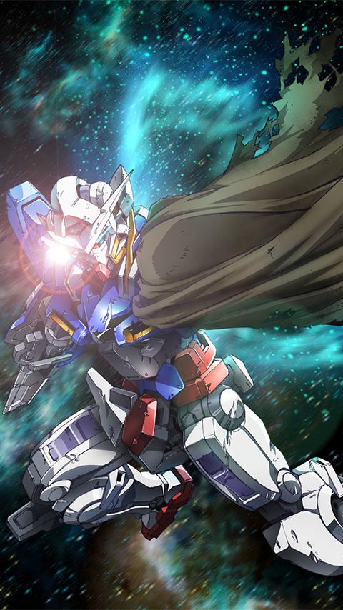 GN 001RE Gundam Exia Repair Wallpaper Poster Image   Gundam Kits 480x854