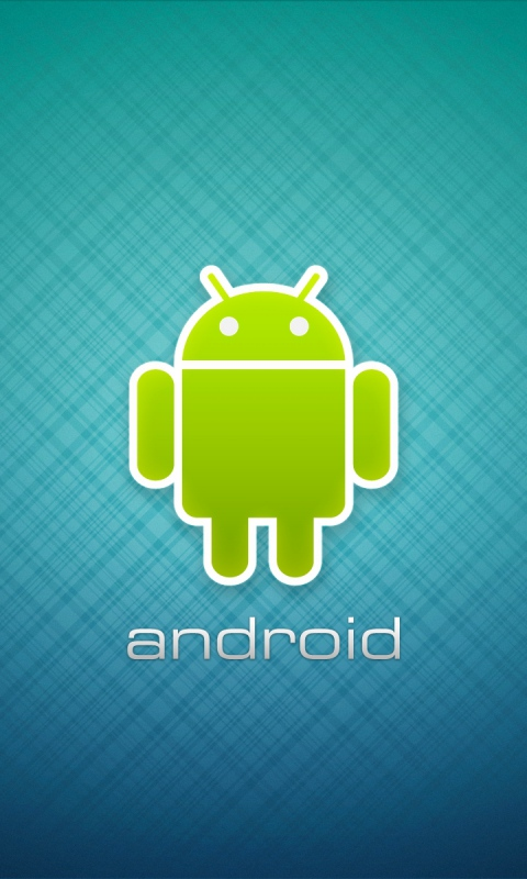 LG Optimus 2x Wallpapers Blue android robot Android Wallpapers 480x800