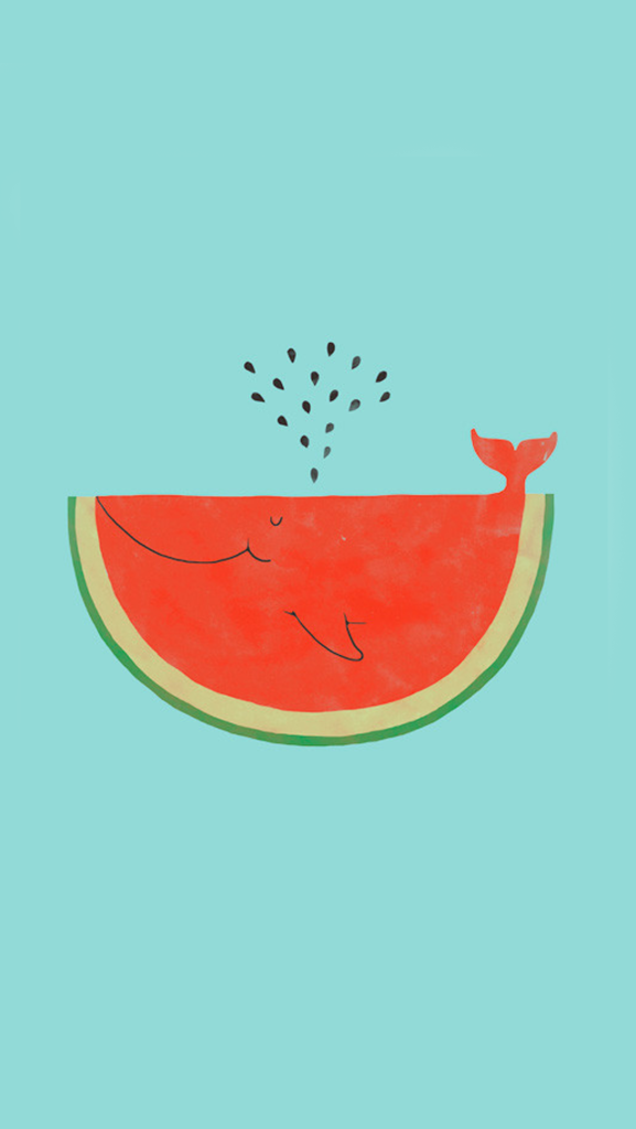 Watermelon Whale Wallpaper Pictures Photos and Images for Facebook 577x1024