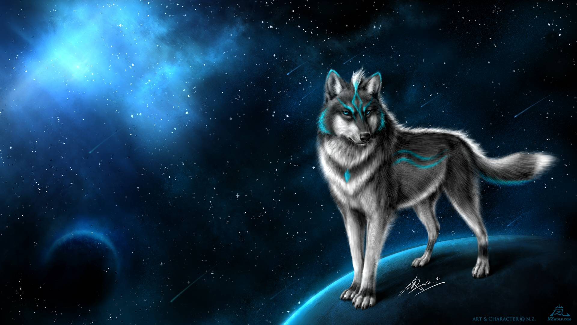 Fantasy Wolf Wallpapers 1920x1080