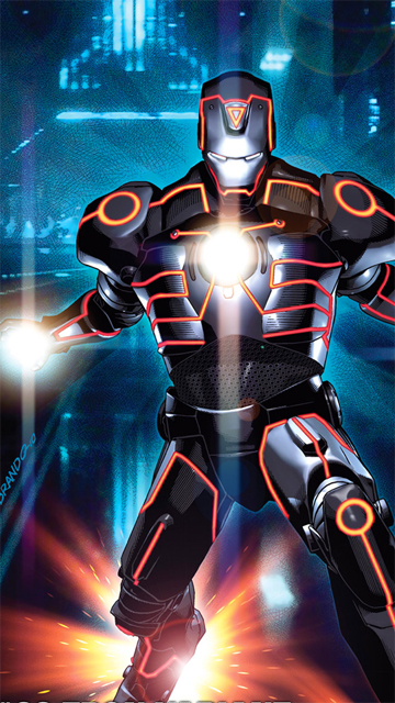 definition cell phone screen Iron Man hd wallpaper for phones 360x640