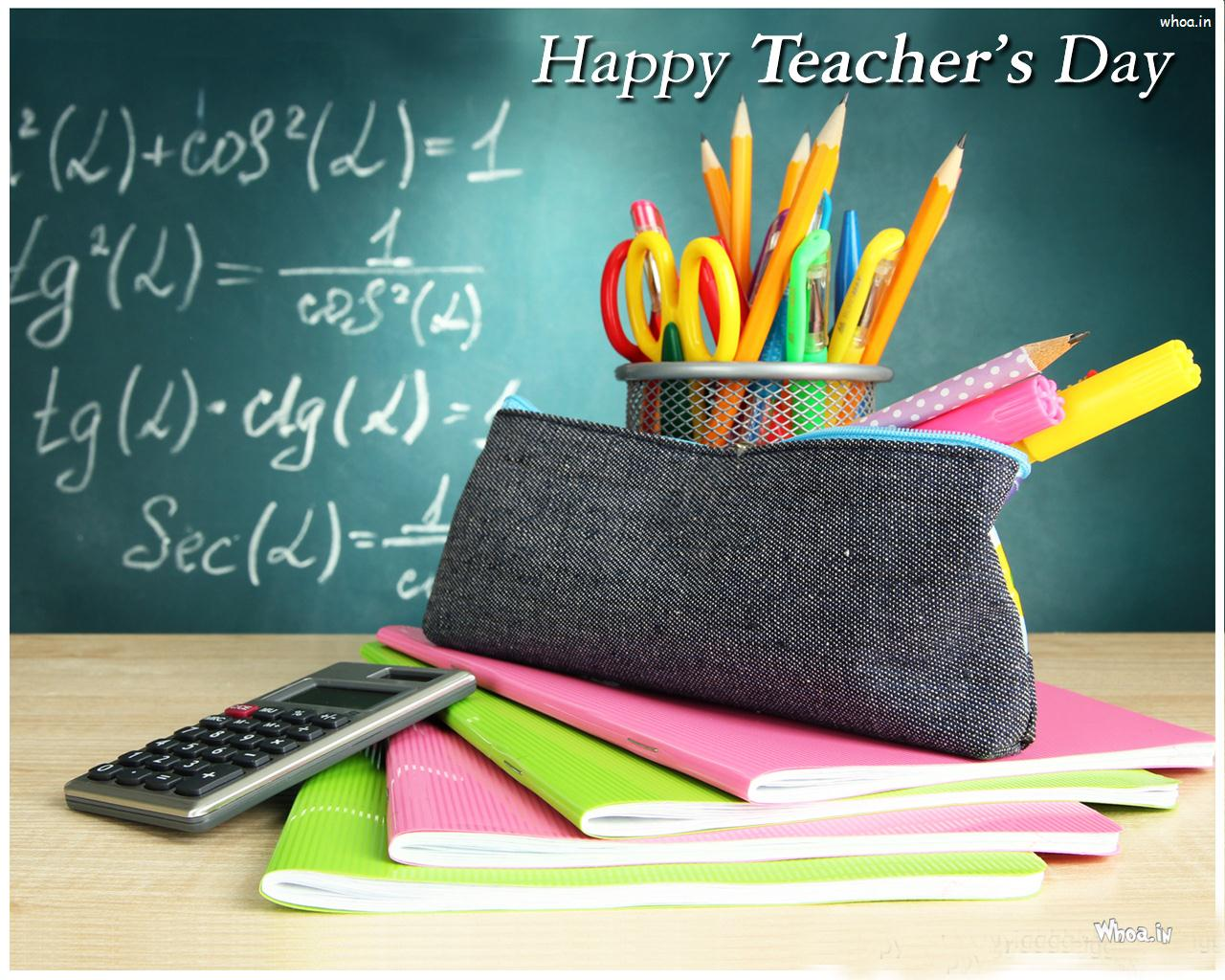 Teachers Day Colorful Wallpaper 1280x1024