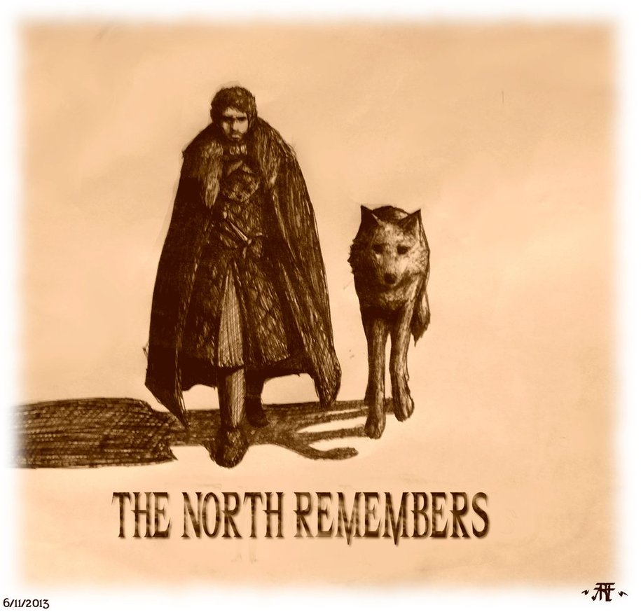 Game Of Thrones The North Remembers Wallpaper The north remembers by 915x874
