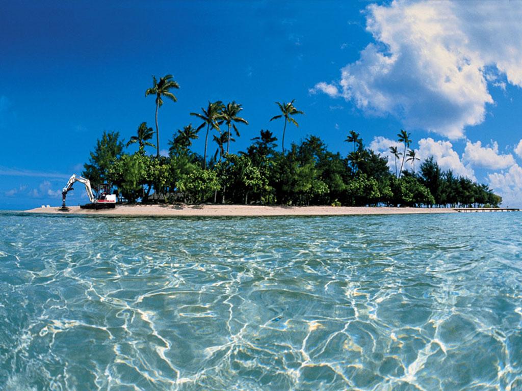 Island Backgrounds 1024x768