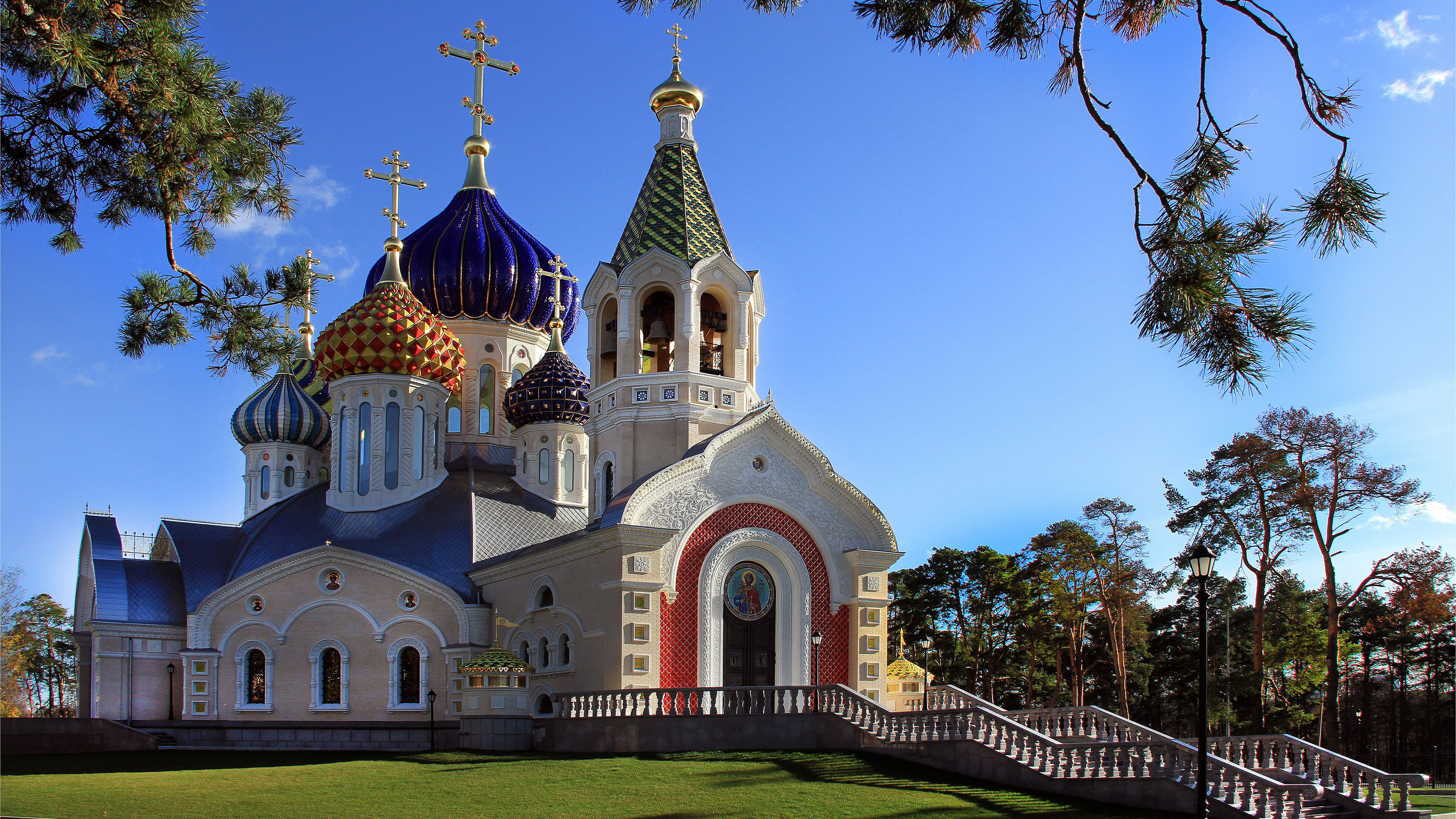 Free Download Domes On A Orthodox Church Wallpaper World