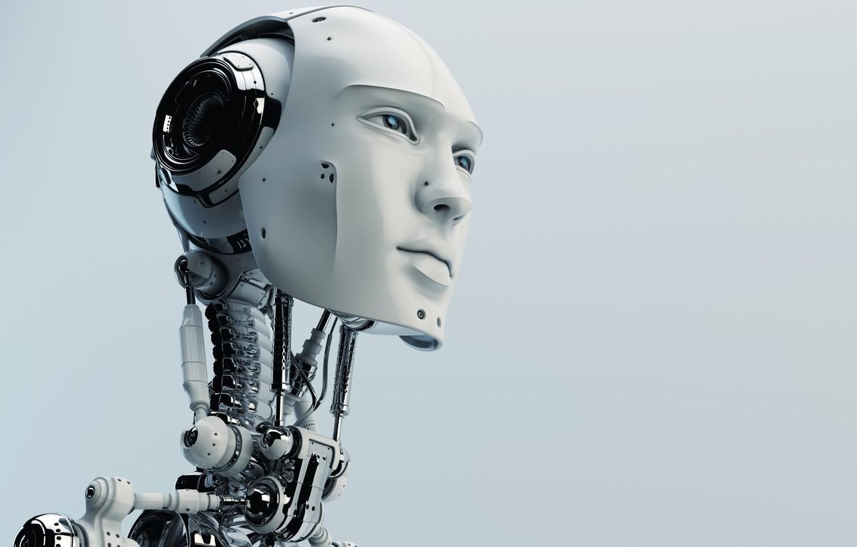 Wallpaper robot head humanoid images for desktop section 1332x850