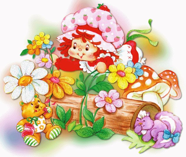 Free download Pin by Shannon Beaupre on Strawberry ...  Vintage Strawberry Shortcake Wallpaper