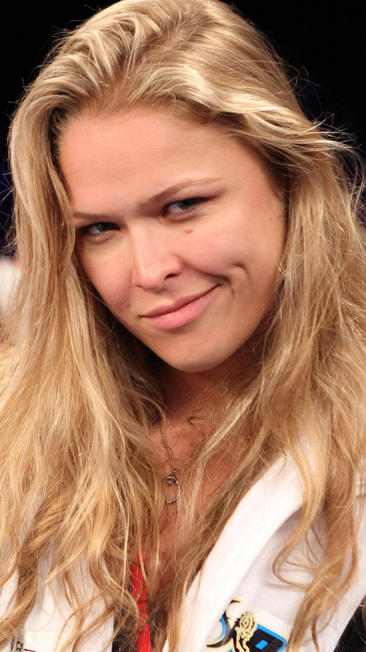 Ronda jean rousey 2015 Mma Judo Actress Wallpaper Background 750x1334