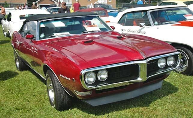 Red 1968 Pontiac Firebird HD Wallpapers 643x394