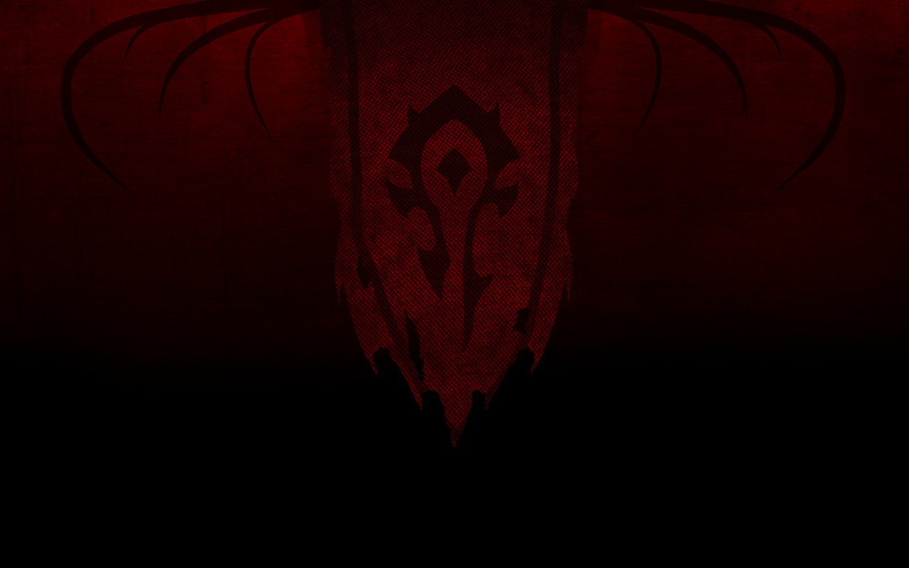 Free Download Horde Flag Wallpaper By Paintevil 1280x800