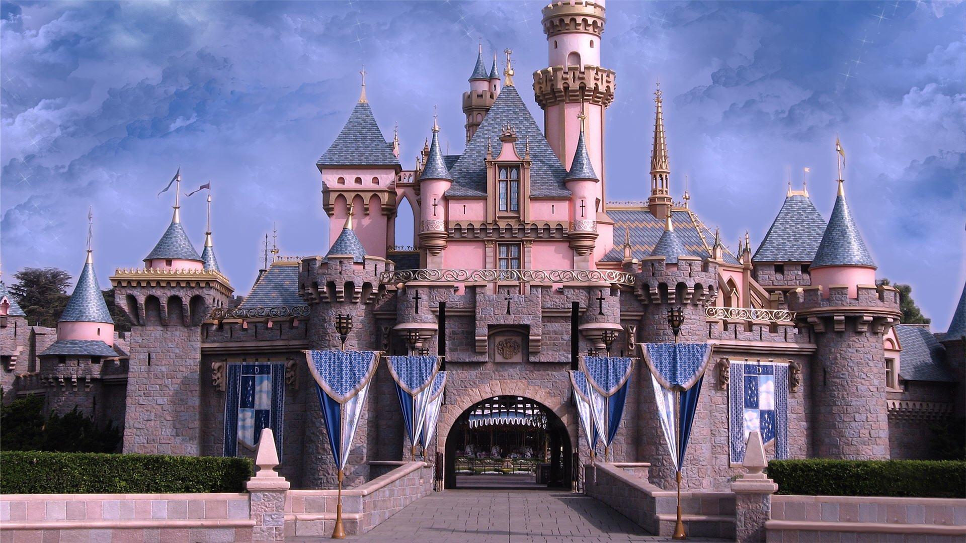 download Disney Castles Wallpaper HD 1920x1080 3389 1920x1080