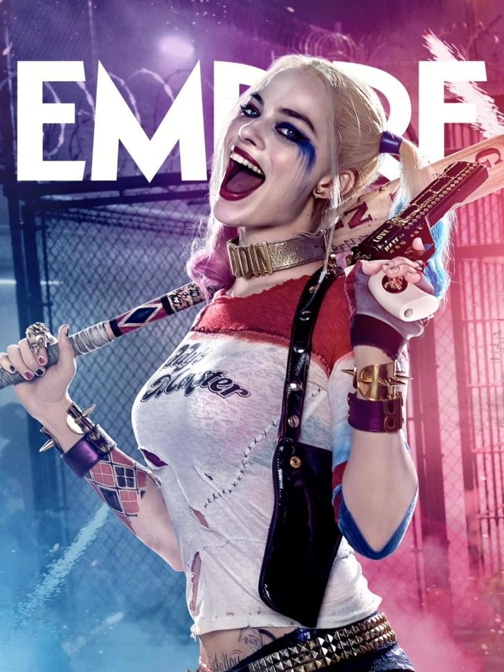 Harley Quinn Margot Robbie Suicide Wallpaper 4939   1536x2048   PXPOD 728x971