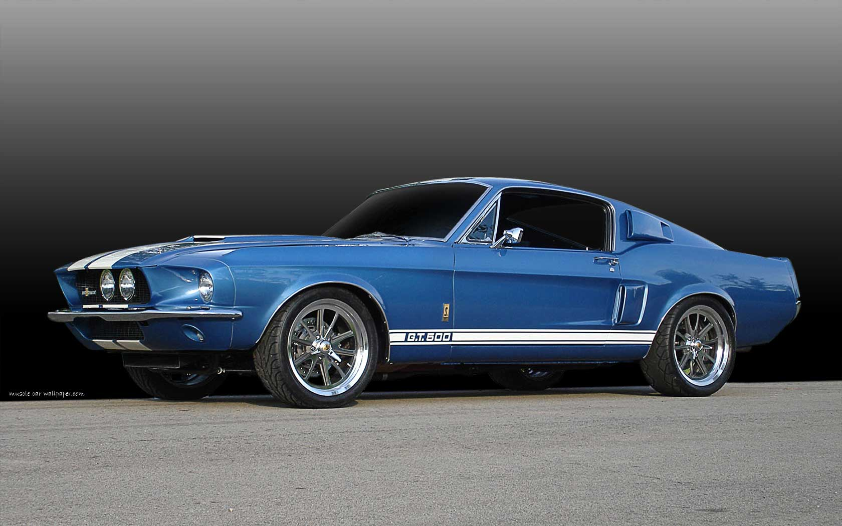 1967 ford mustang shelby gt500 muscle car wallpaper 1680 07 1680x1050