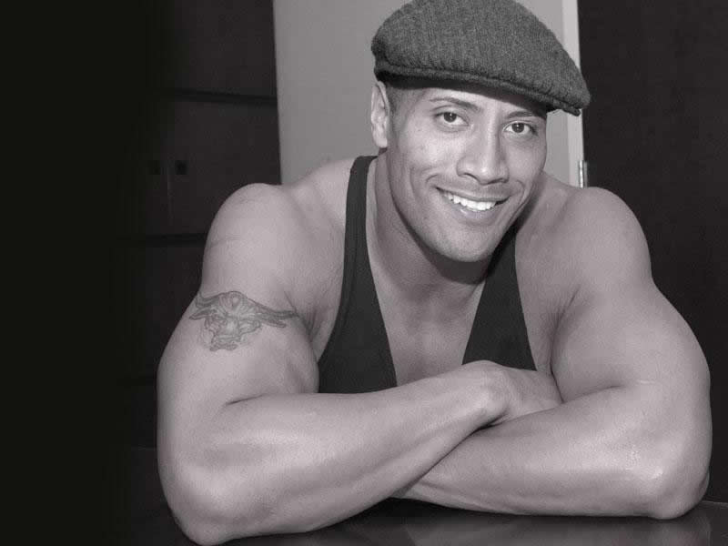 ALL SPORTS PLAYERS Wwe The Rock New HD Wallpapers 2013 800x600