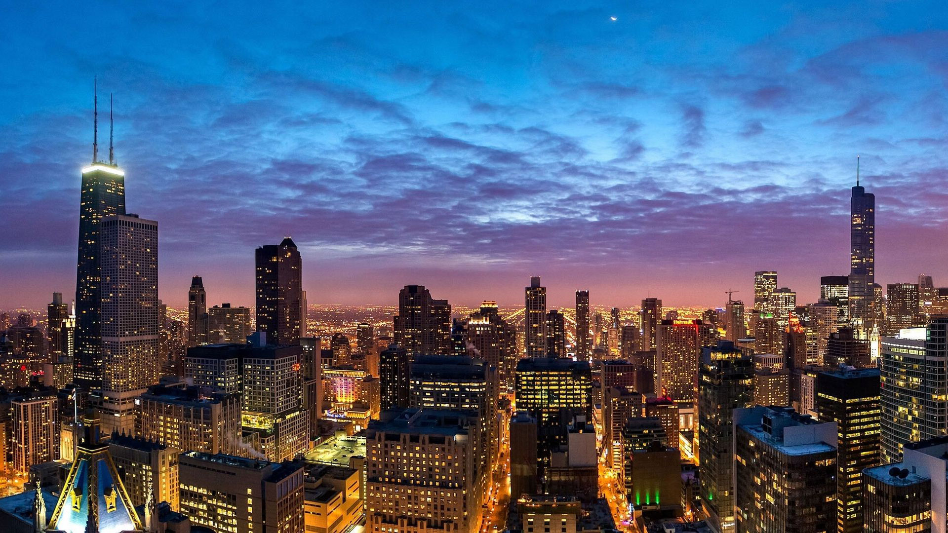 Chicago cityscape wallpaper   1206845 1920x1080