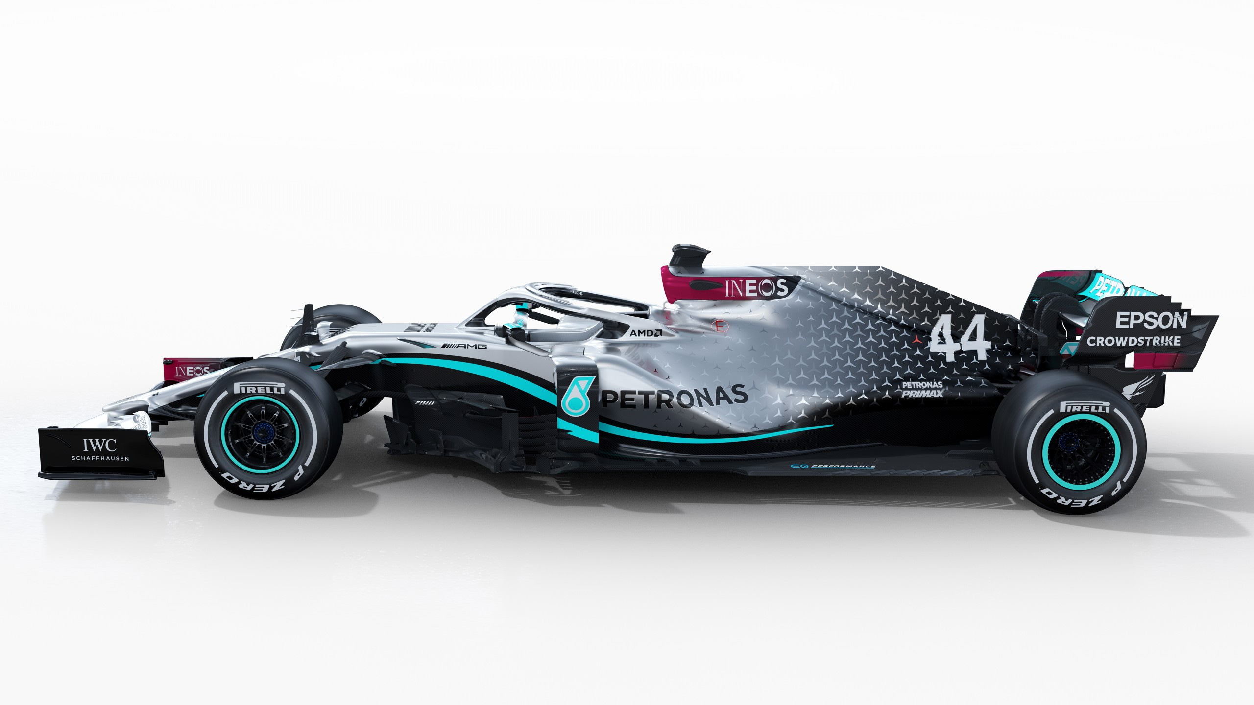 Mercedes AMG F1 W11 EQ Performance 2020 5K Wallpaper HD Car 2560x1440