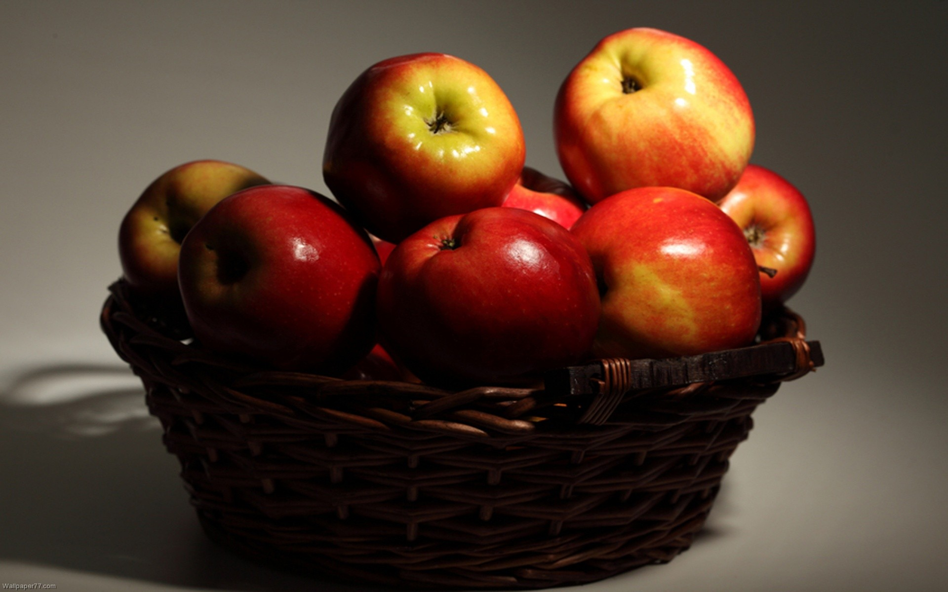 apple wallpaper basket wallpapers fruit food 1920x1200 1920x1200