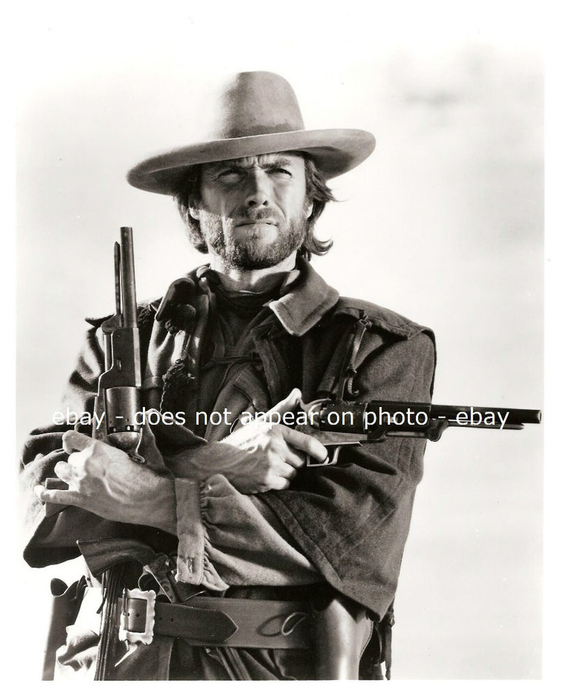 Clint Eastwood Outlaw Josey Wales Western Civil War Confederate 8 x 10 805x1000