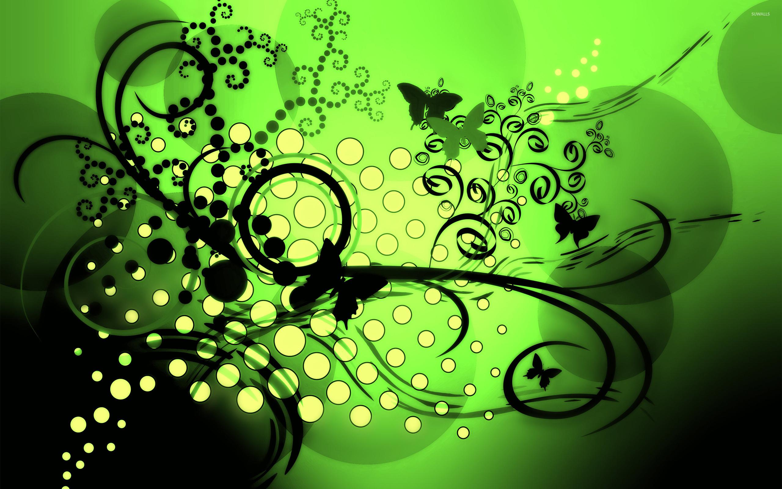 Green Butterfly Wallpapers Butterflies wallpaper 2560x1600