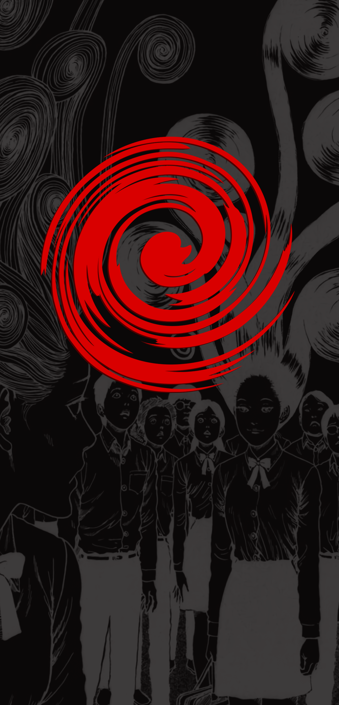 Uzumaki phone wallpaper I made up junjiito 1080x2240