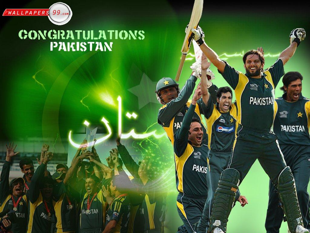 Pakistan Cricket Team HD Wallpapers Fashion World 1024x768