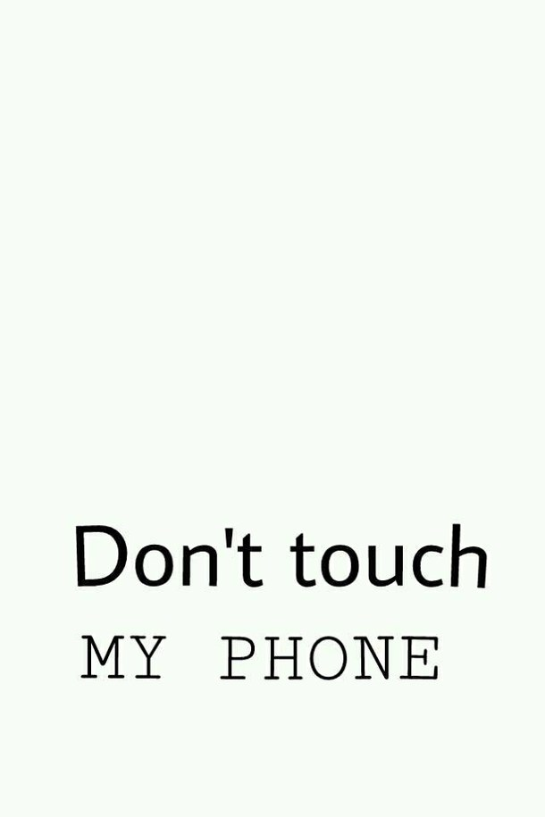 Don 39 t touch my ipod wallpaper wallpapersafari - Don t touch my ipad wallpaper ...