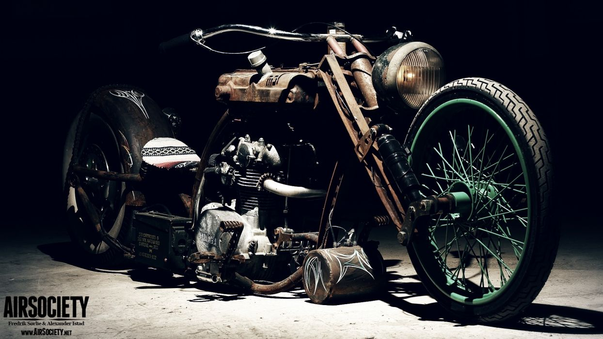 Bike custom chopper ride yamaha rust vehicles rats suspension 1244x700