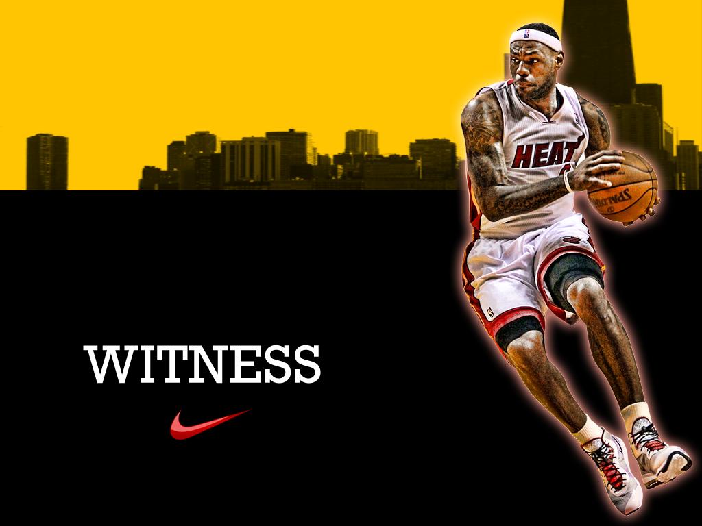 LeBron James Witness Wallpaper digitalartrealm 1024x768
