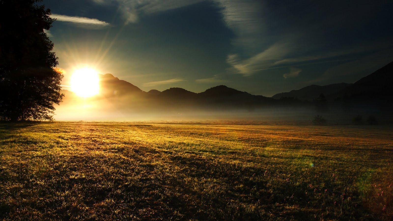 Beautiful Sunset Wallpaper Hd Desktop Wallpaper 1600x900