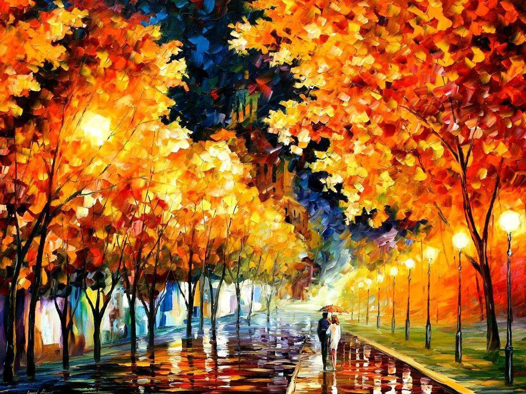 Leonid Afremov Wallpapers 1024x768