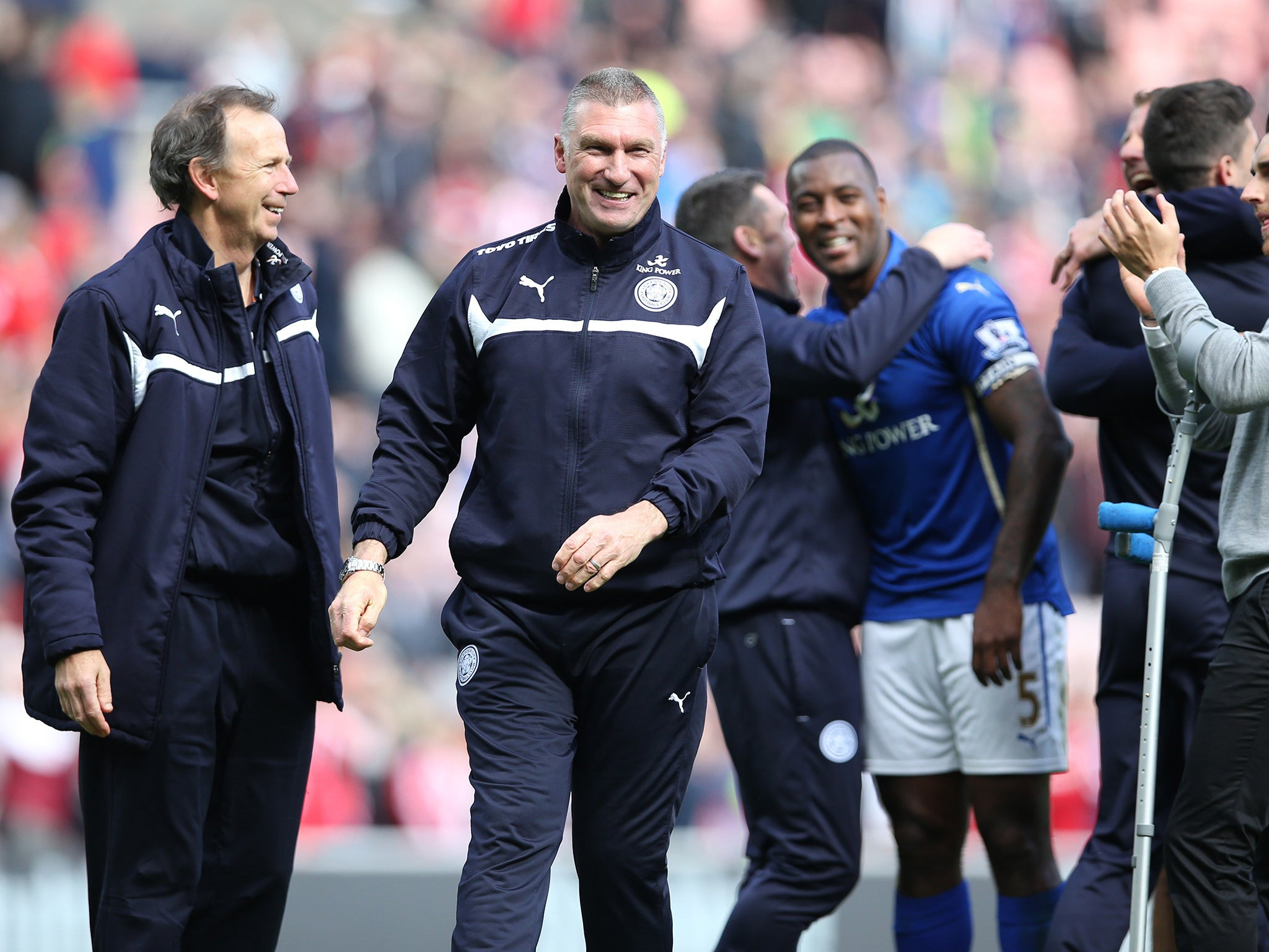 Sunderland vs Leicester match report Nigel Pearson thanks god but 2048x1536