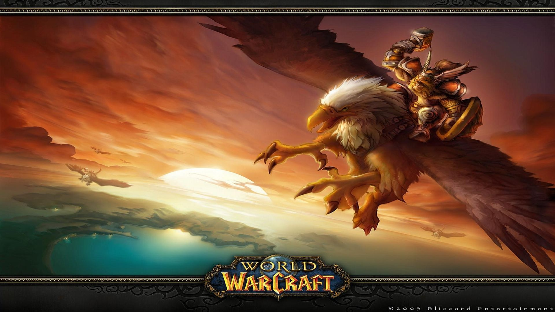 World Of Warcraft Backgrounds 1920x1080: 3 Screen Wallpaper 1920x1080 Wow