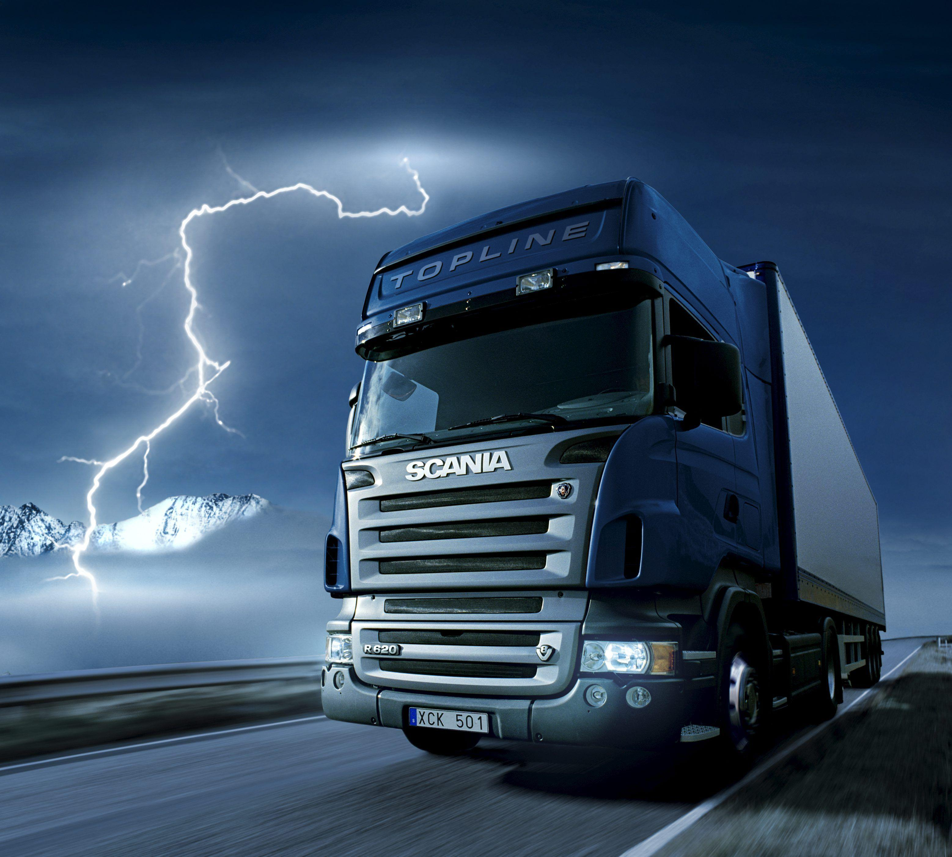 Scania Trucks Wallpapers 3115x2805