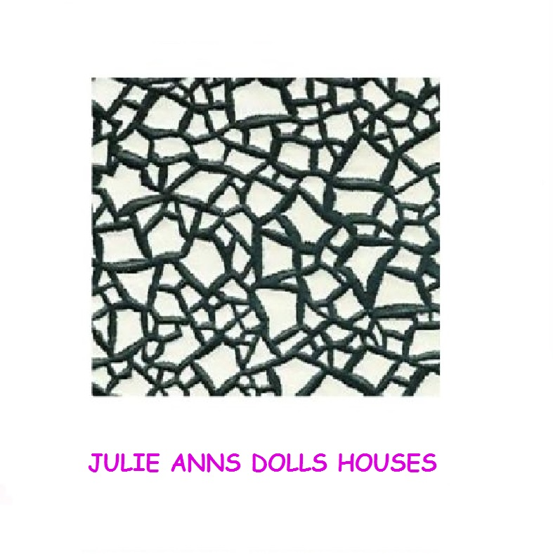 DOLLS HOUSE CRAZY PAVING FLOORING WALL WALLPAPER FREE DELIVERY 787x795
