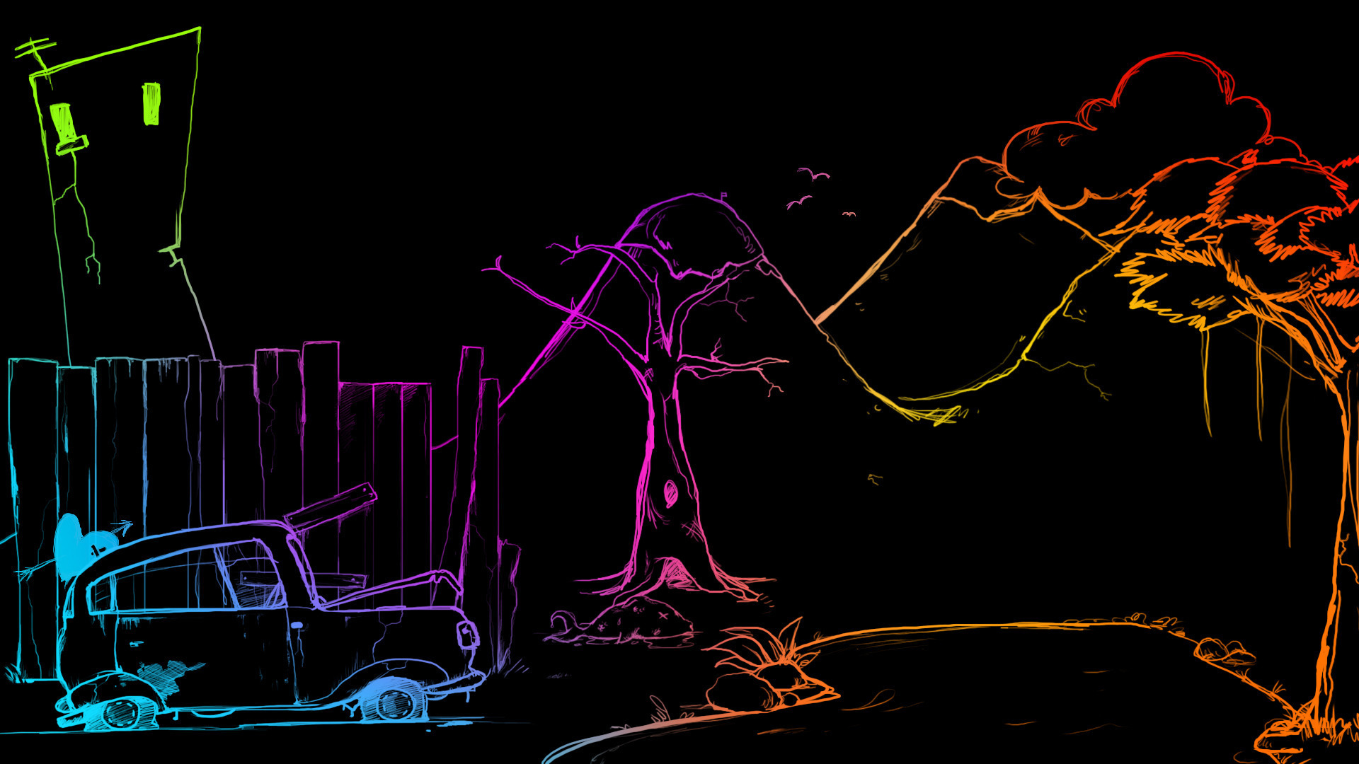 tag neon art wallpapers - photo #40