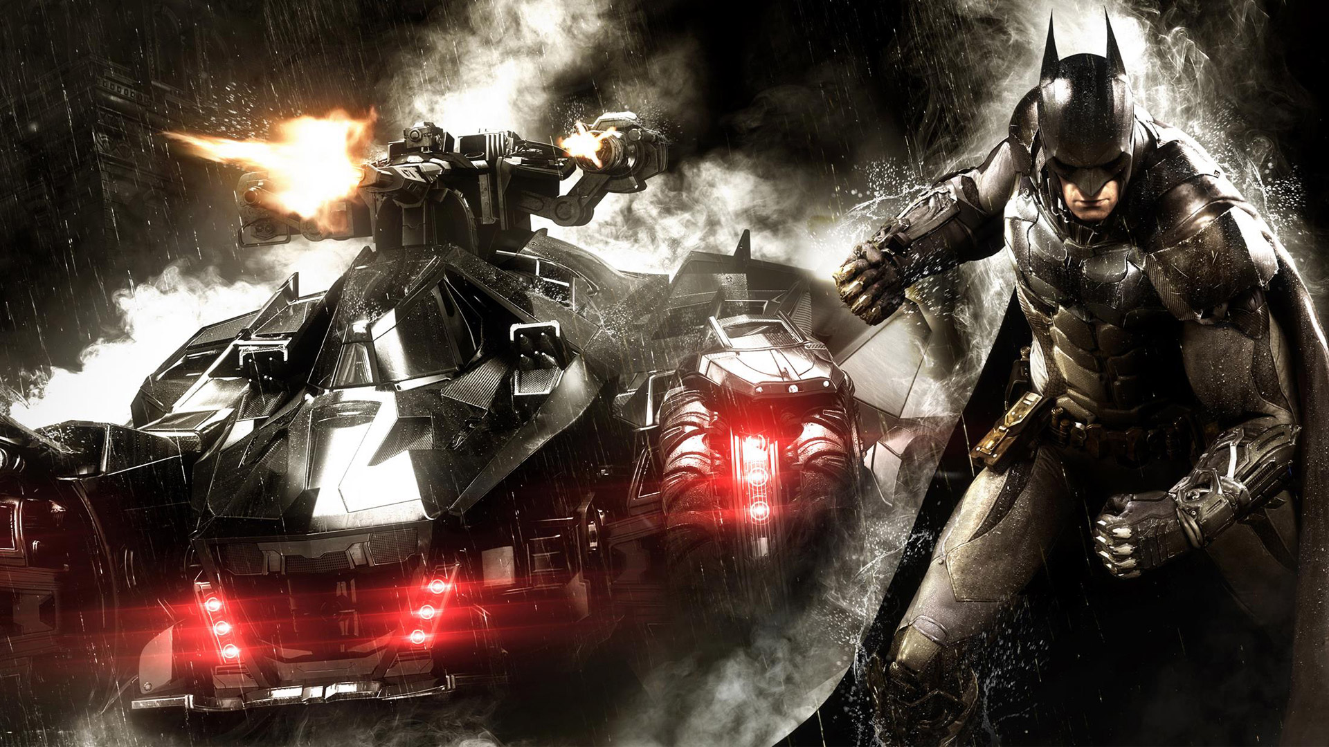 Batman Arkham Knight Wallpaper HD by FreddyLolBear 1920x1080
