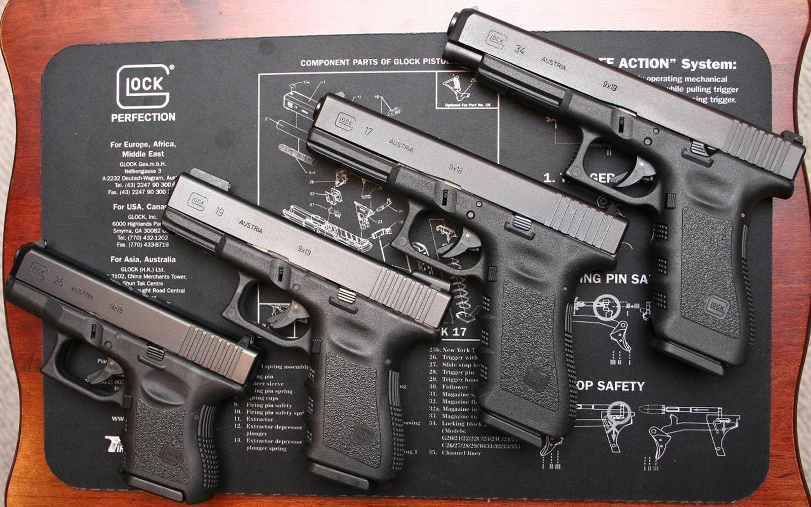 Central Wallpaper Glock 19 HD Gun Wallpapers 1600x1000