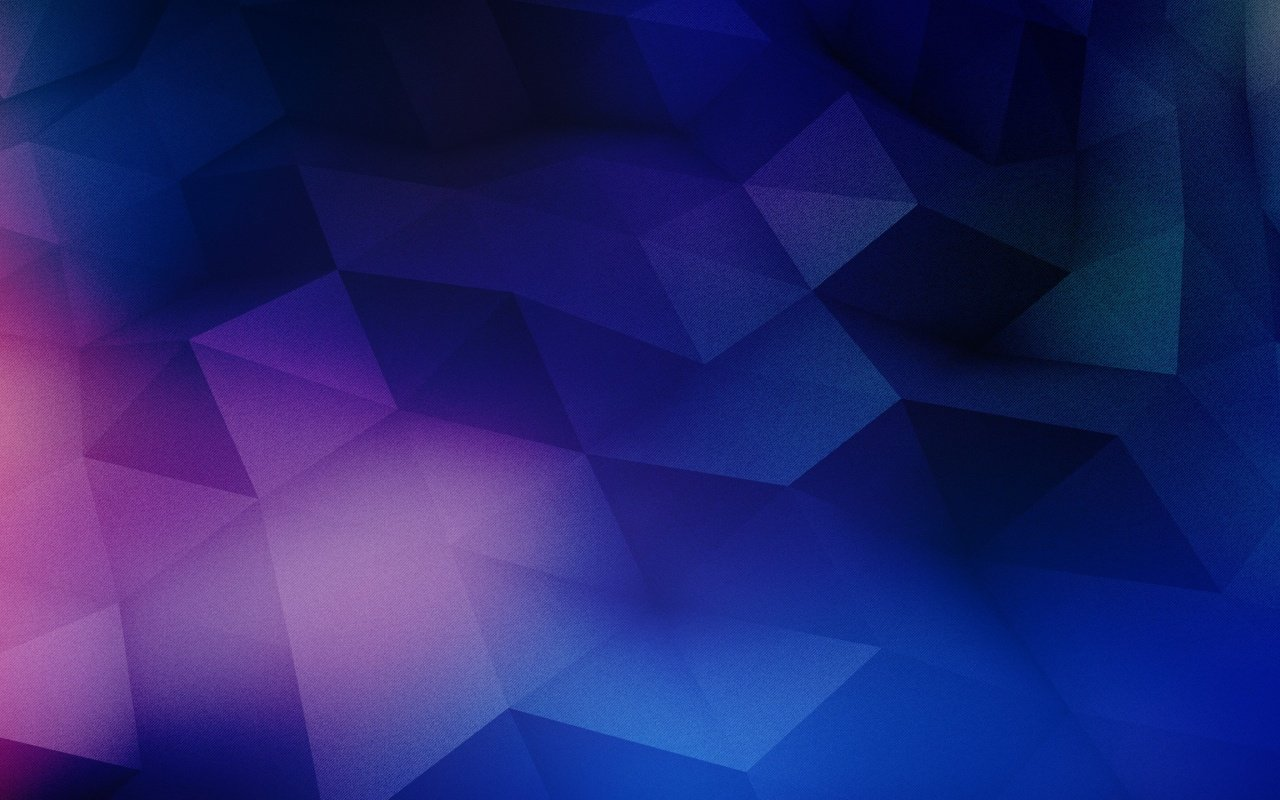 1280x800 Blue Purple Geometric Shapes desktop PC and Mac wallpaper 1280x800
