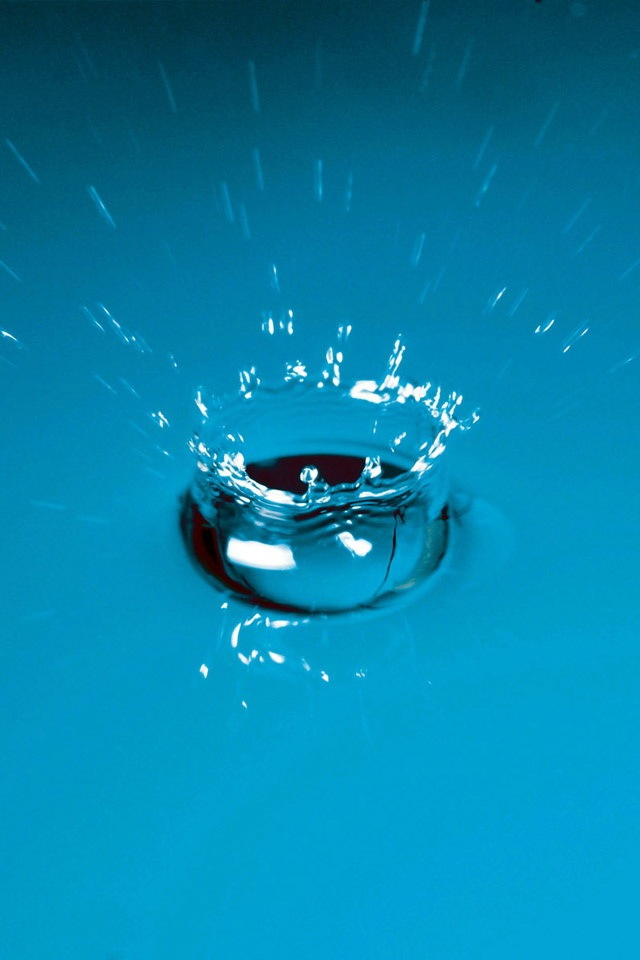 Splash Simply beautiful iPhone wallpapers 640x960